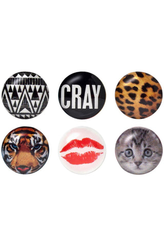 Cray Home Button Sticker Pack