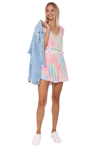 W.A.P.G. Meet Me At The Beach Mini Dress