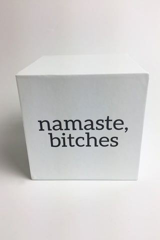 Brooklyn Karma Namaste Bitches Candle