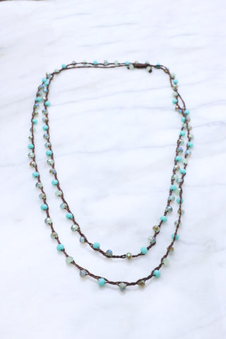Spiritguide Santorini Beaded Necklace