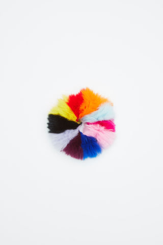 Jocelyn Rex Rabbit Rainbow Scrunchie