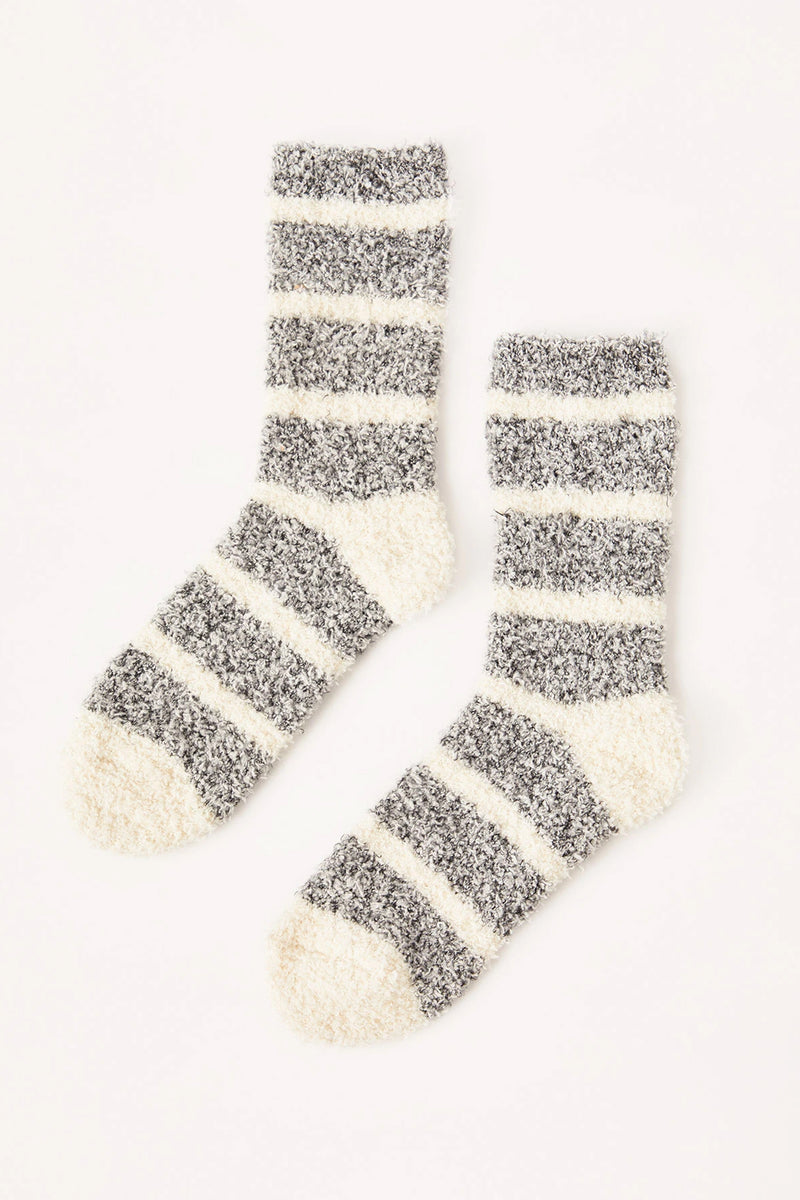 Z Supply Striped Plush Socks