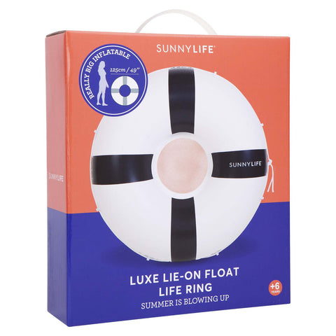 SunnyLife Lie-On Life Ring Float