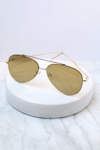 Ophelia Aviator Sunglasses