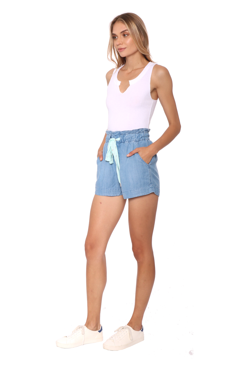 Shabby Chic Cruz Chambray Shorts