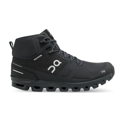 On Cloudrock Waterproof - All Black - Herra