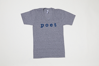 Poet V Neck Grey Base