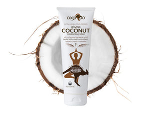 CocoRoo Naturally Naked USDA Organic Coconut Oil Moisurizer - The Conscious Glow Boutique