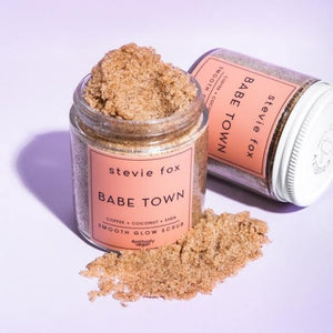 Babe Town Smooth Glow Body Scrub - The Conscious Glow Boutique