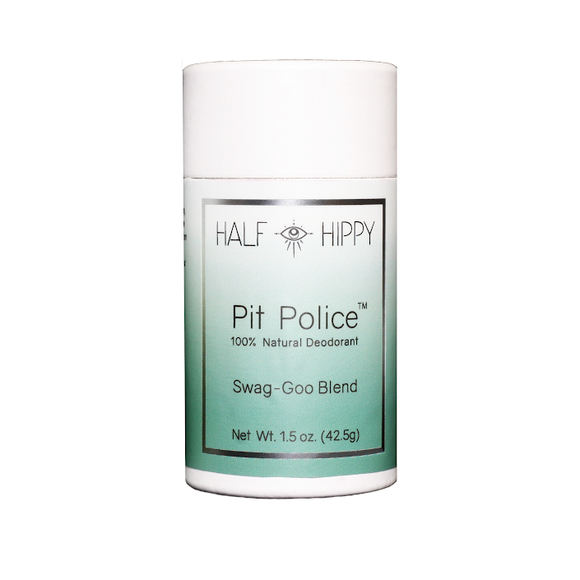 'Pit Police' Deodorant Push-up Tube: Swag-Goo Blend: baking soda formula