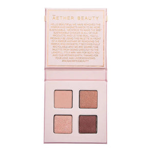 Aether Beauty Co Ametrine Mini Crystal Palette - The Conscious Glow Boutique