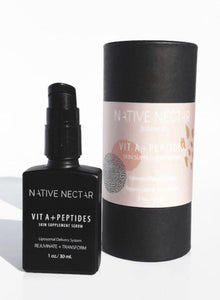 Vit A + Peptides Skin Supplement - The Conscious Glow Boutique