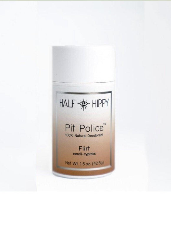 Pit Police Natural Deodorant Push-up tube - Flirt - The Conscious Glow Boutique