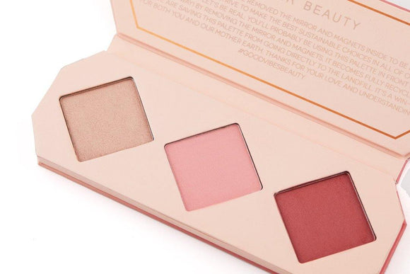 Aether Beauty Co. Crystal Charged Cheek Palette- Ruby - The Conscious Glow Boutique