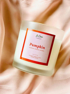LeCoco Non-toxic Candle: Pumpkin - The Conscious Glow Boutique