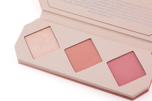 Aether Beauty Co. Crystal Charged Cheek Palette- Rose Quartz - The Conscious Glow Boutique