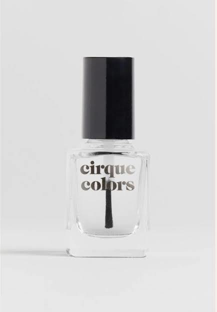 Cirque Colors non-toxic nail polish: Looking Glass Top Coat
