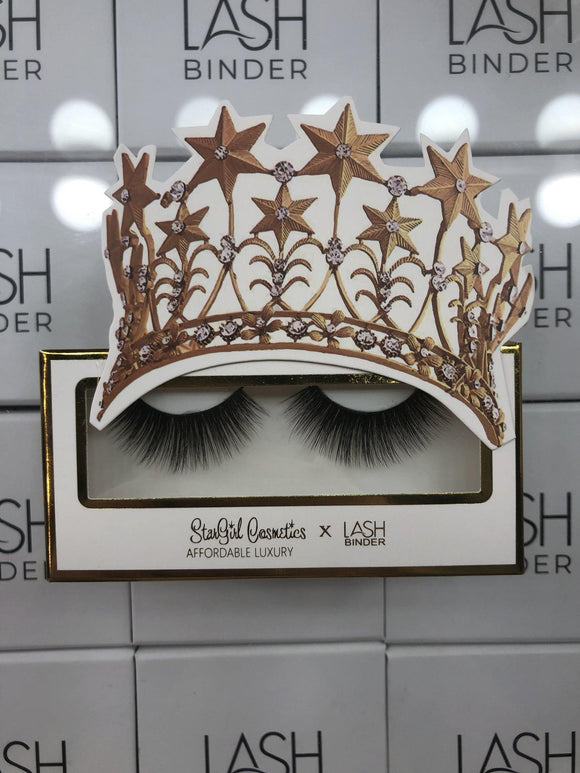 Lash Binder x StarGirl Cosmetics Lashes- PRETTY WOMAN - The Conscious Glow Boutique