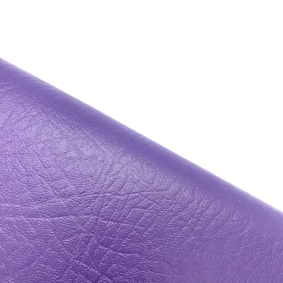 Pretty Purple Leatherette Sheet