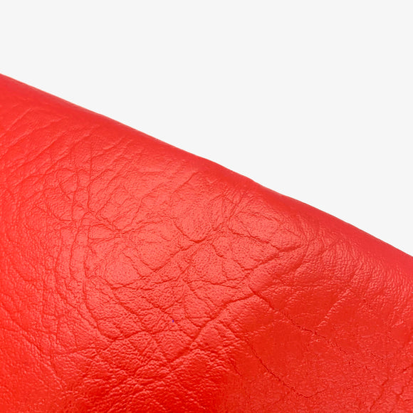 Festive Red Leatherette Sheet