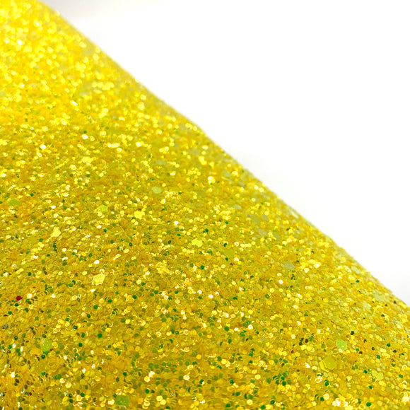 Sunset Yellow Luxury Chunky Glitter
