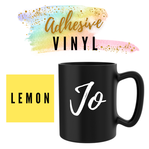 Lemon Adhesive Words / Names