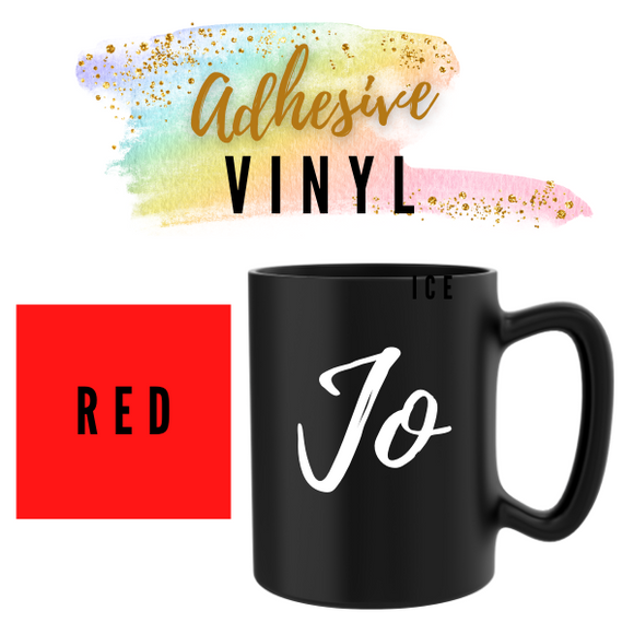 Red Adhesive Words / Names