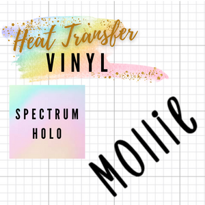 Spectrum Holographic HTV Words / Names