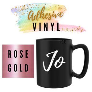 Rose Gold Adhesive Words / Names