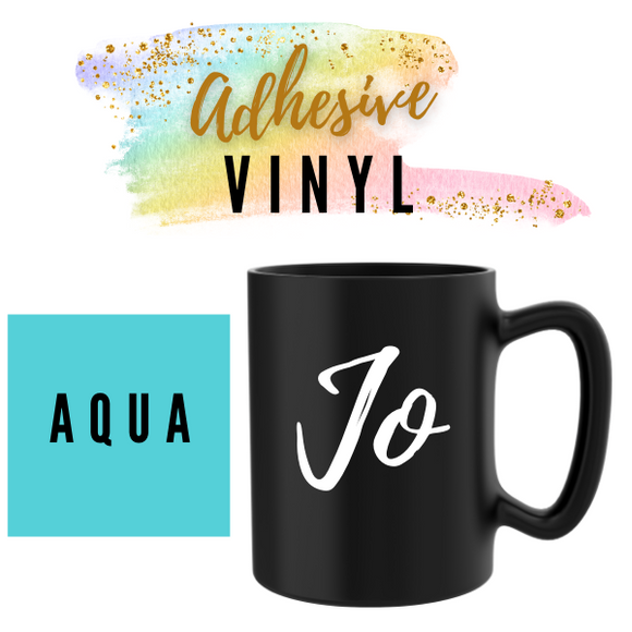 Aqua Adhesive Words / Names