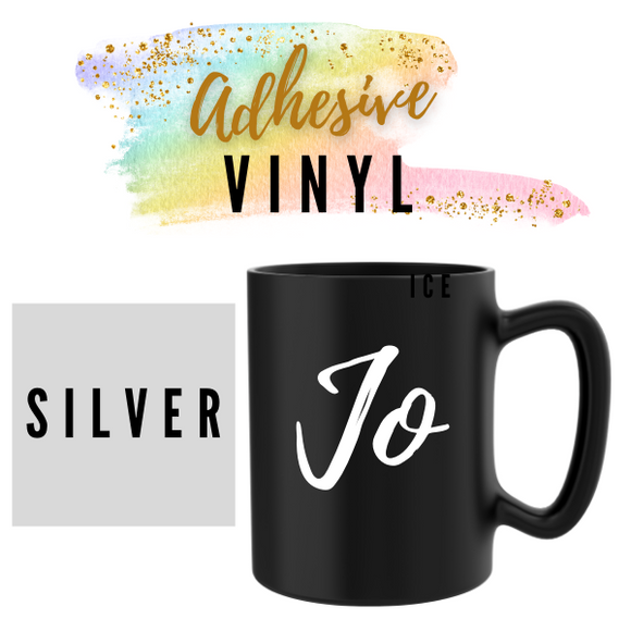 Silver Adhesive Words / Names