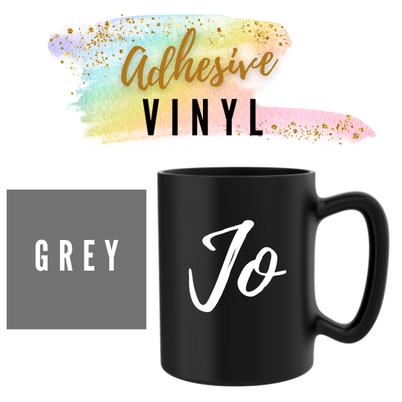 Grey Adhesive Words / Names