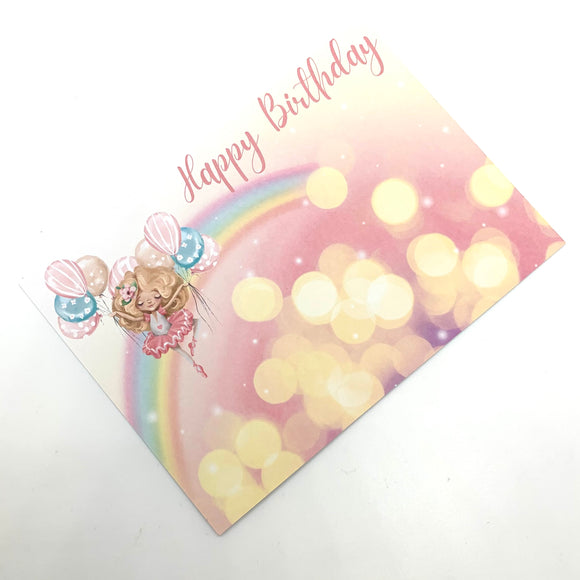 Birthday Friends Bow Card Collection
