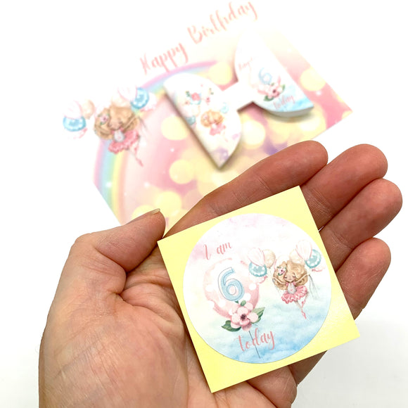 Birthday Friends Stickers