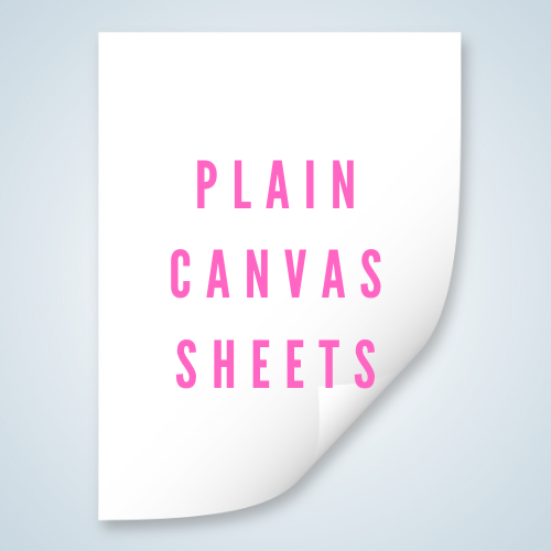 Plain Canvas Sheet