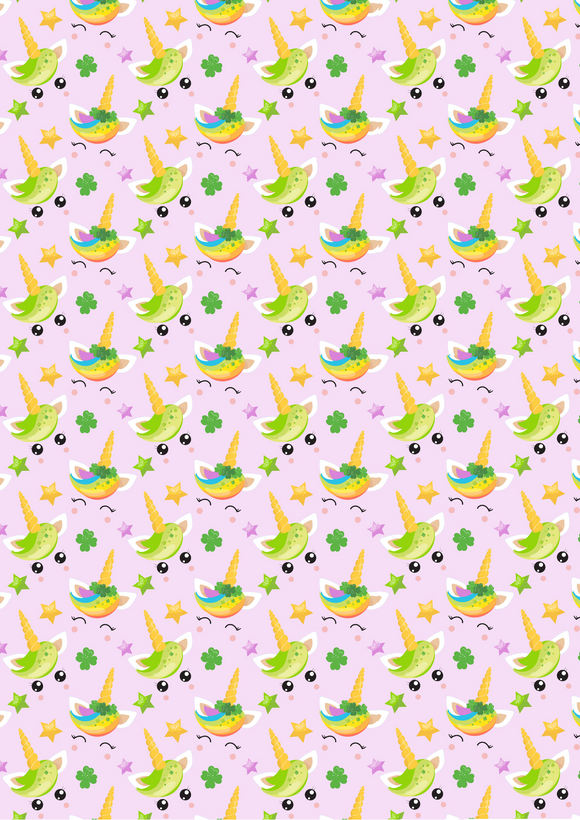 Pink Lucky Rainbow Unicorns