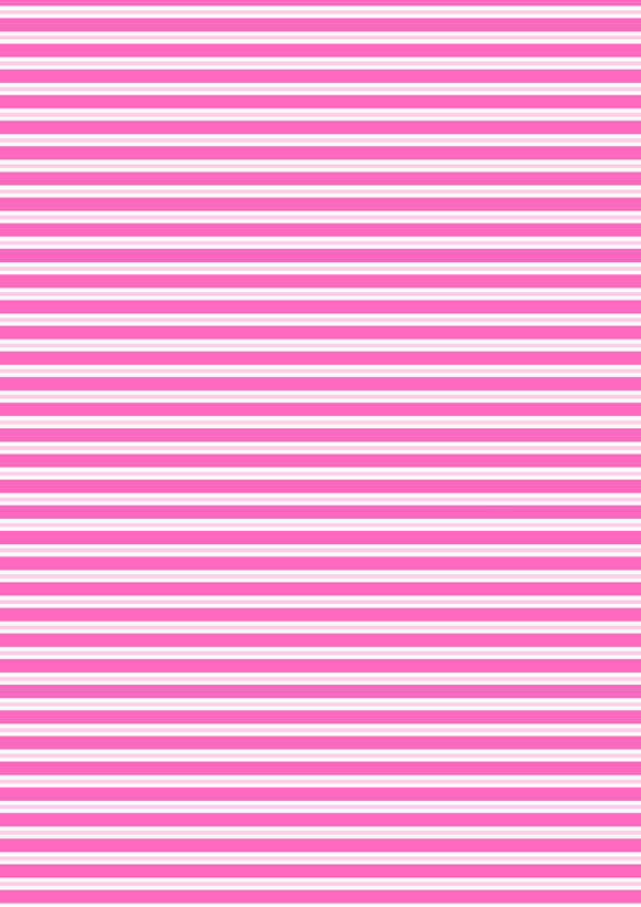 Bright Pink Stripes