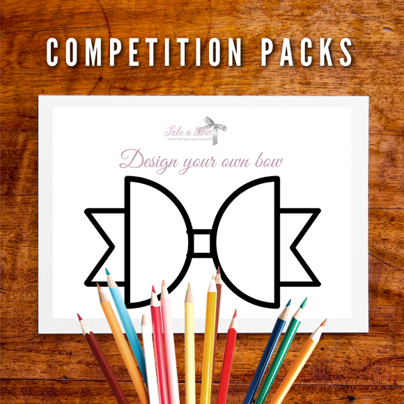 Design a Bow Competition Packs