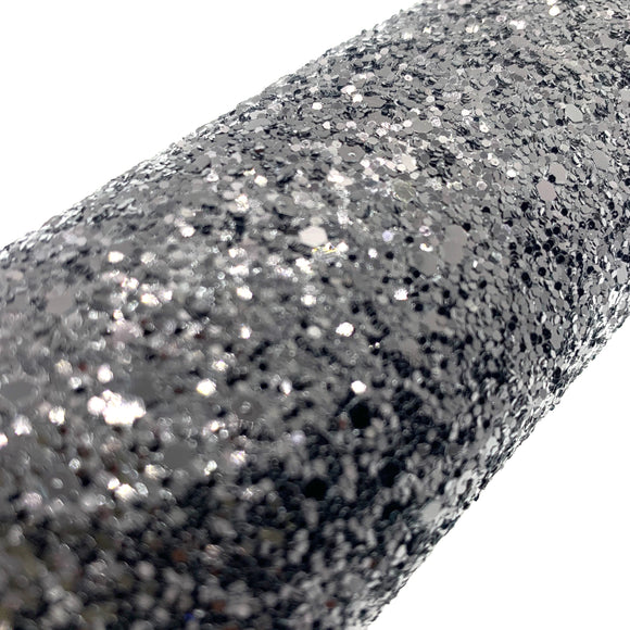 Black Diamond Chunky Glitter Sheet