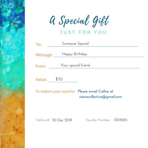 $150 Gift Voucher - Give a very special personal gift