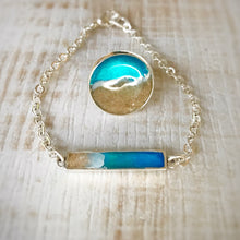 Load image into Gallery viewer, Ocean Gypsy Ring and Sand Bar Bracelet Noosa Collective Sand and Ashes Memorial Memory Jewellery