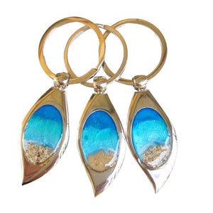 Keyring Noosa Collective Sand and Ashes Jewellery