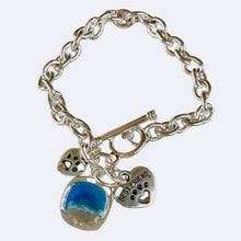 Load image into Gallery viewer, Moments Charm Bracelet | Pet Ash Memorial Jewellery | Sand Jewelry | Noosa Collective