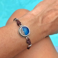 Load image into Gallery viewer, Porthole Leather Bracelet