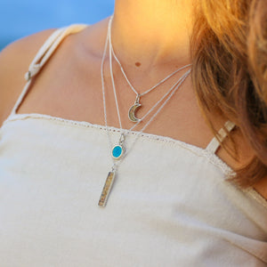 Crystal Sand Intention Necklace