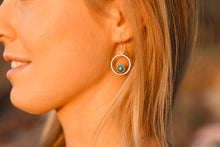Load image into Gallery viewer, Round the World Earrings