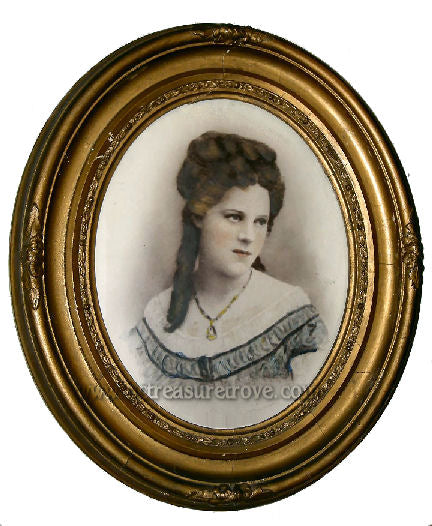 Victorian Photo of Woman with Bad Attitude