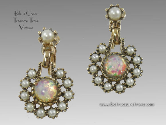 Vintage Sarah Coventry Earrings -Empress