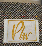 Vintage Plw Label