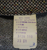 Vintage 1970s Dress & Jacket Content Label